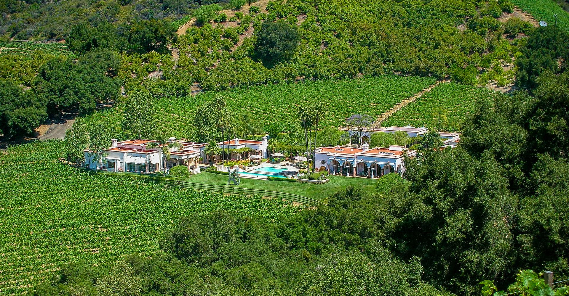 The ranch at the Malibu vineyard