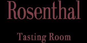 Rosenthal logo tasting room