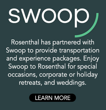 Swoop curated wine tasing and table packages